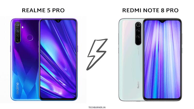 Redmi Note 8 Pro Vs Realme 5 Pro