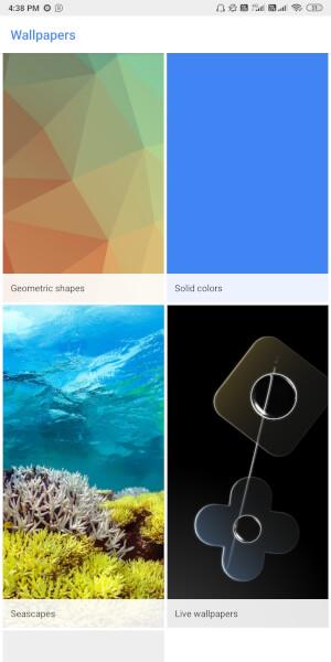Google Pixel 4 Live Wallpapers