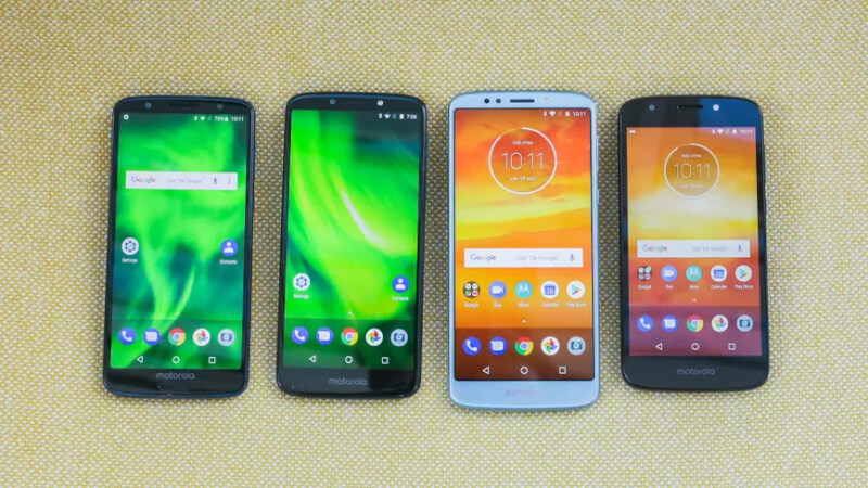Moto g6, g6 plus, g6 play android 10