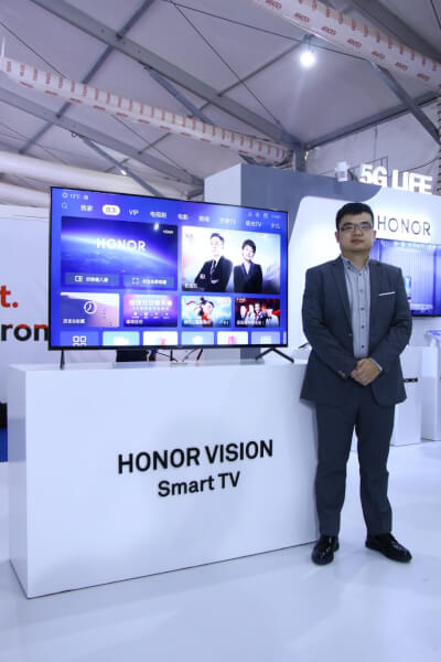 honor vision launch date in india