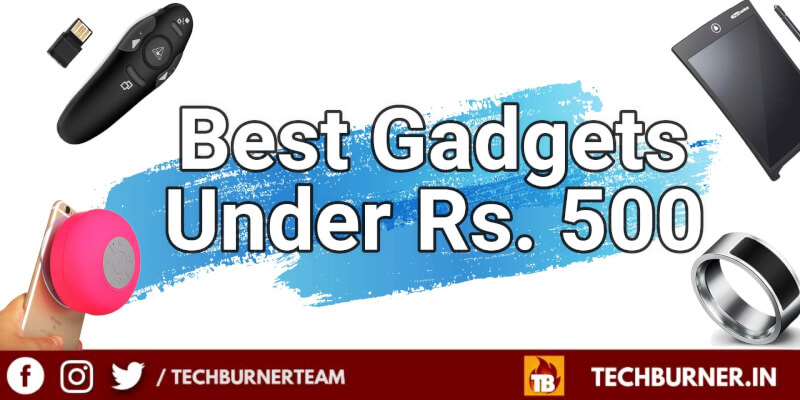 best gadgets under 500, best gadgets to buy under 500 rs, best gadgets under 500 rupees on amazon, best tech gadgets 2019, best gadgets on amazon