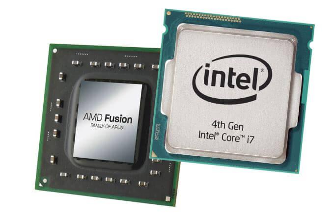 CPU Intel Vs AMD