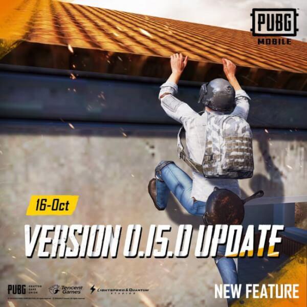 PUBG mobile 0.15.0 , pubg 0.15.0 update, pubg update 0.15.0, pubg mobile update, pubg mobile 0.15.0 update