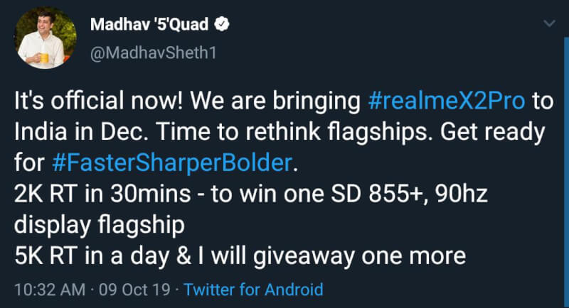 Realme TV launch date in india