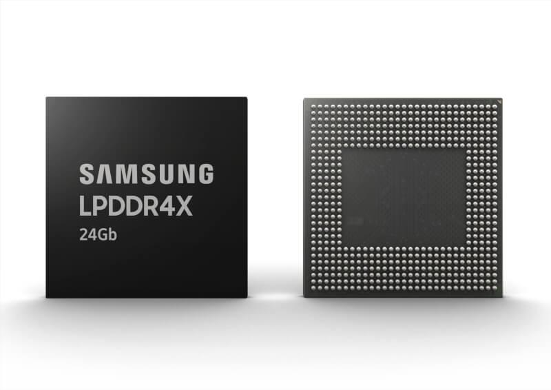 Samsung 24Gb LPDDR4X uMCP for 12GB RAM Mid range smartphones