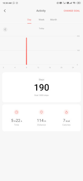 MIUI 11 Activity Tracker
