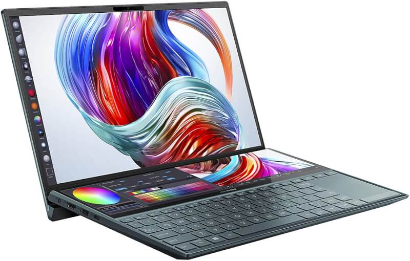 asus zenbook pro duo price in India, asus zenbook pro duo features, zenbook pro duo specifications, zenbook pro duo launched, asus zenbook pro duo buy