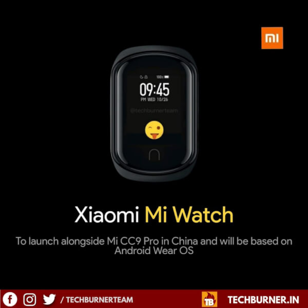 mi watch price in india