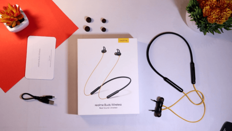 realme buds wireless unboxing, realme buds wireless box contents