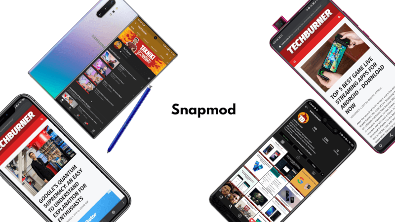 Snapmod, add device frames to your screenshots