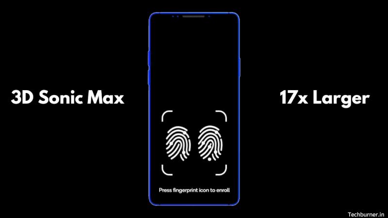 3D Sonic Max: New gen ultrasonic fingerprint sensor