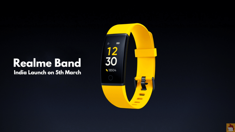 Realme band india launch