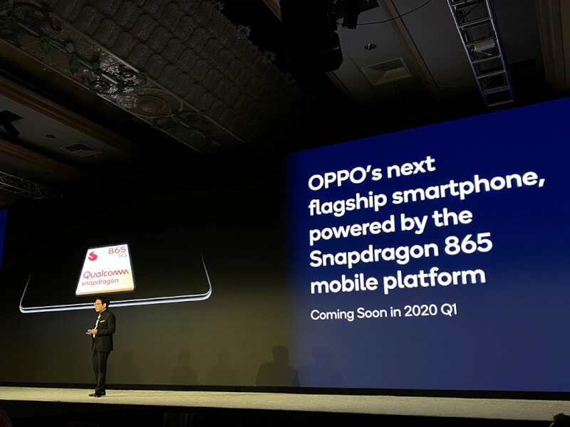 Oppo Flagship with Snapdragon 865