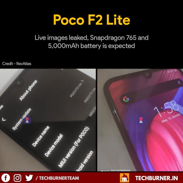 poco f2 lite live images leaks, poco f2 live images leaks, poco f2 lite leaks, poco f2 lite features, poco f2 lite specs, poco f2 lite launch date in India