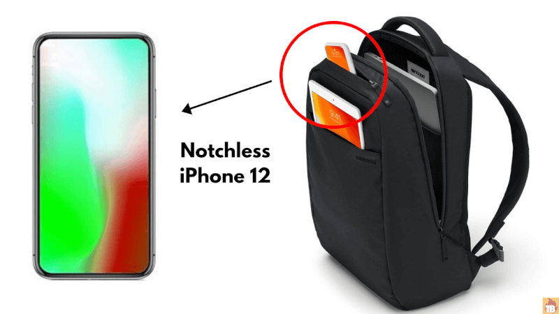 Notchless iPhone 12