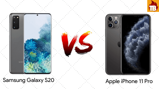 S20 vs iPhone 11 Pro