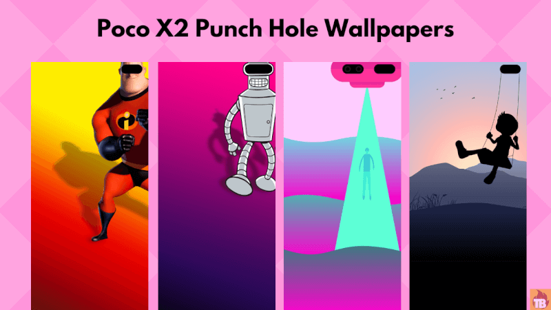 Download Poco X2 Punch Hole Wallpapers