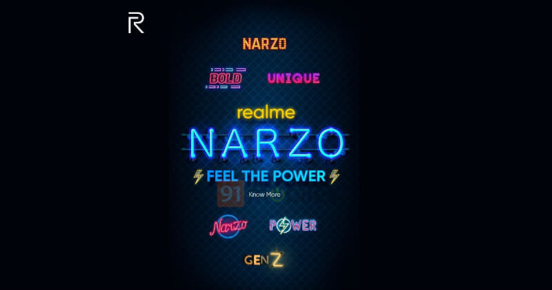 realme narzo, narzo realme, realme narzo launch date in India, realme narzo teased, realme narzo products
