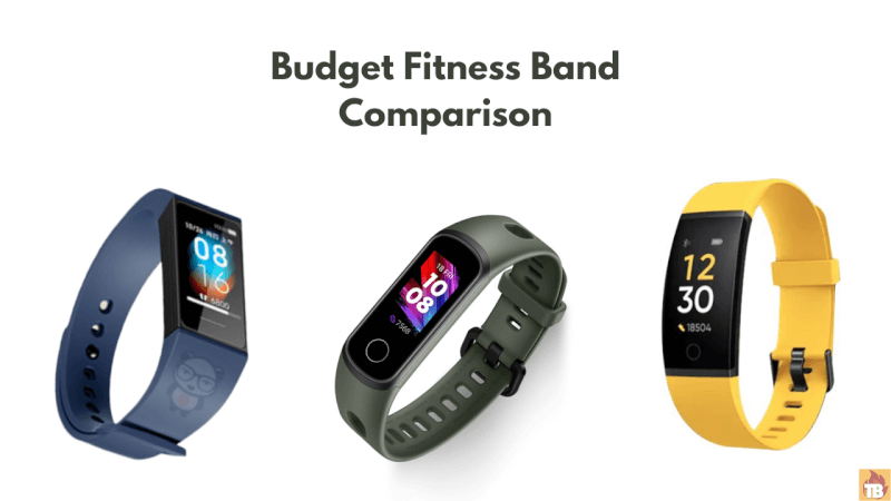 Redmi Band Vs Realme Band Vs Honor Band 5i