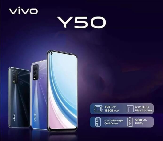 vivo y50 launch date in India