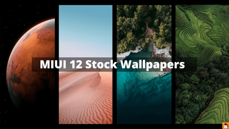 Download MIUI 12 Stock Wallpapers