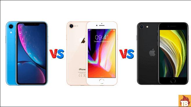 iPhone SE 2020 vs iPhone XR, iPhone SE vs iPhone XR, new iPhone SE vs iPhone XR vs iPhone 8, iPhone SE 2020 specs comparison, iPhone SE vs iPhone 8