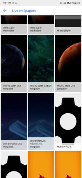 Download MIUI 12 super wallpapers