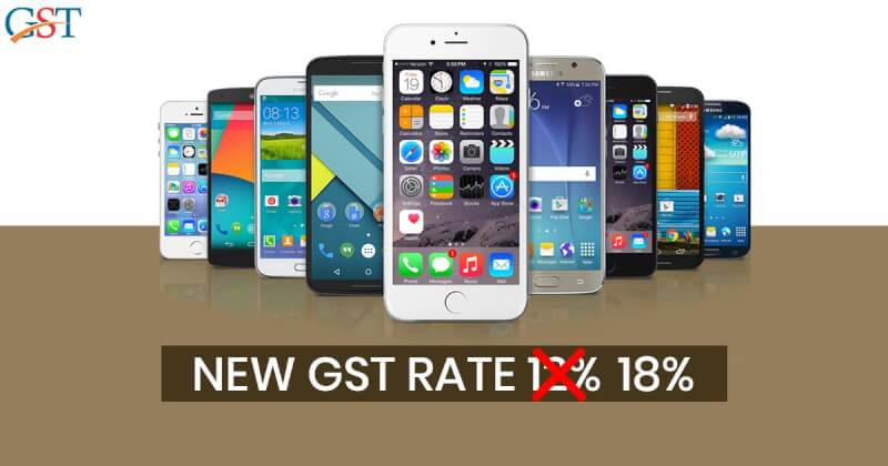smartphone prices in India increased, gst rate hike, gst on smartphones
