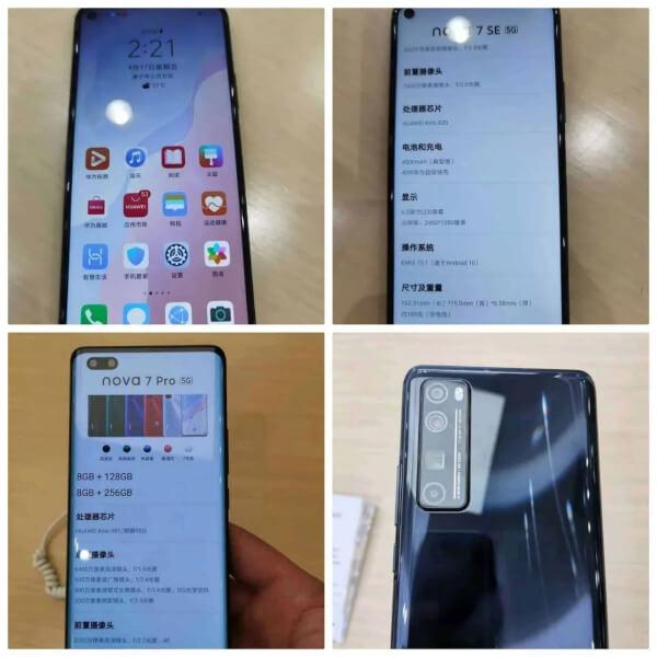Huawei Nova 7 live images, Huawei Nova 7 live images leaks, Huawei Nova 7 launch date in India, Huawei Nova 7 price in India, Huawei Nova 7 specs leaks
