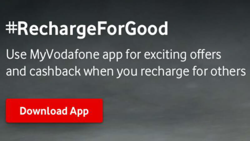 Vodafone recharge cashback, Vodafone idea recharge cashback, Vodafone idea news, Vodafone recharge offer for others, Vodafone recharge offer
