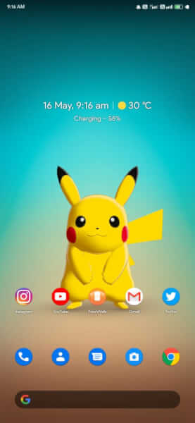how to download pikachu live wallpaper