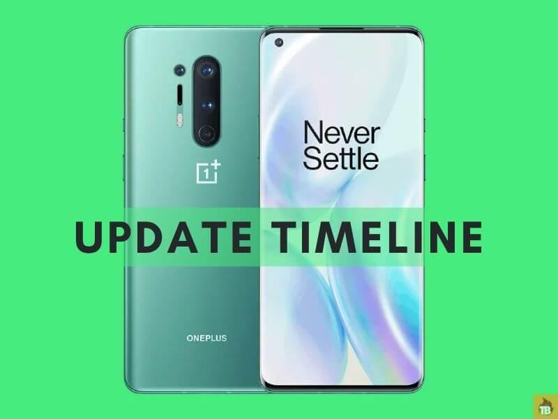 OnePlus 8 pro update timeline, oxygenos update timeline, oneplus 8 update timeline, oxygenos 10.5.10 update changelog