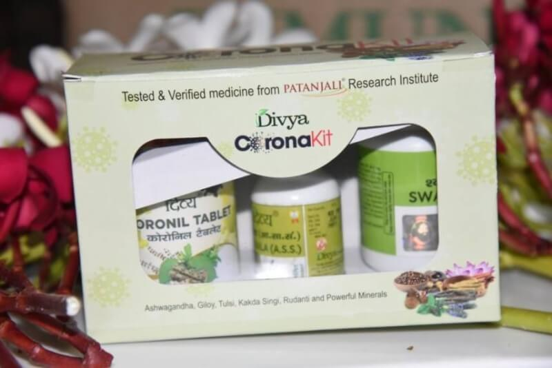 Coronil and Swasari ayurvedic medicines. what is coronil, patanjali corona medicine