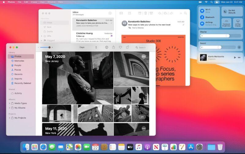 macos big sur top features, macos big sur release date, macos big sur compatible devices