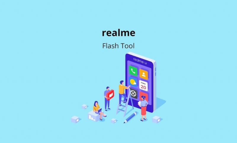 Download Realme Flash Tool, how to use realme flash tool