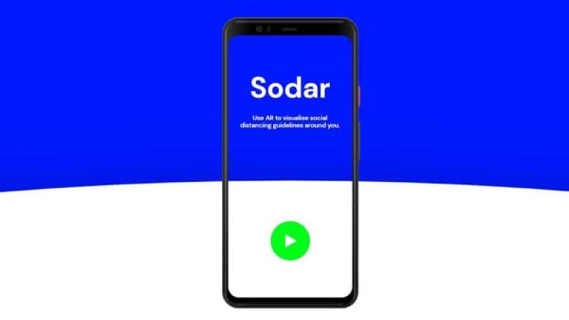 google sodar, google sodar app, google sodar features, sodar ar app, google new ar app