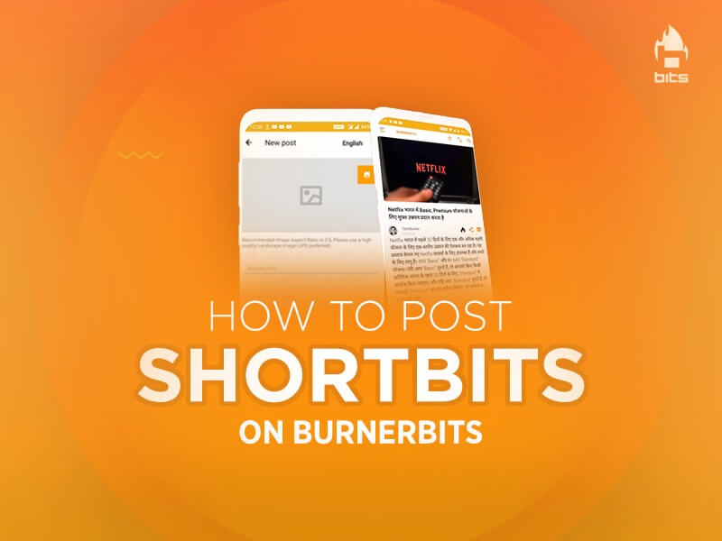 How To Post ShortBits on BurnerBits App