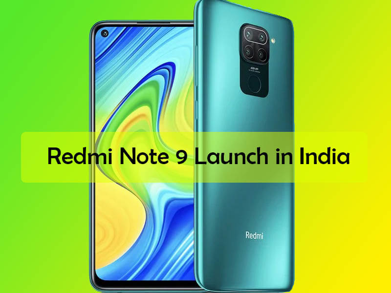 redmi note 9 launch in india, redmi note 9 features, redmi note 9 specs, redmi note 9 price in india, redmi note 9 launch date in india