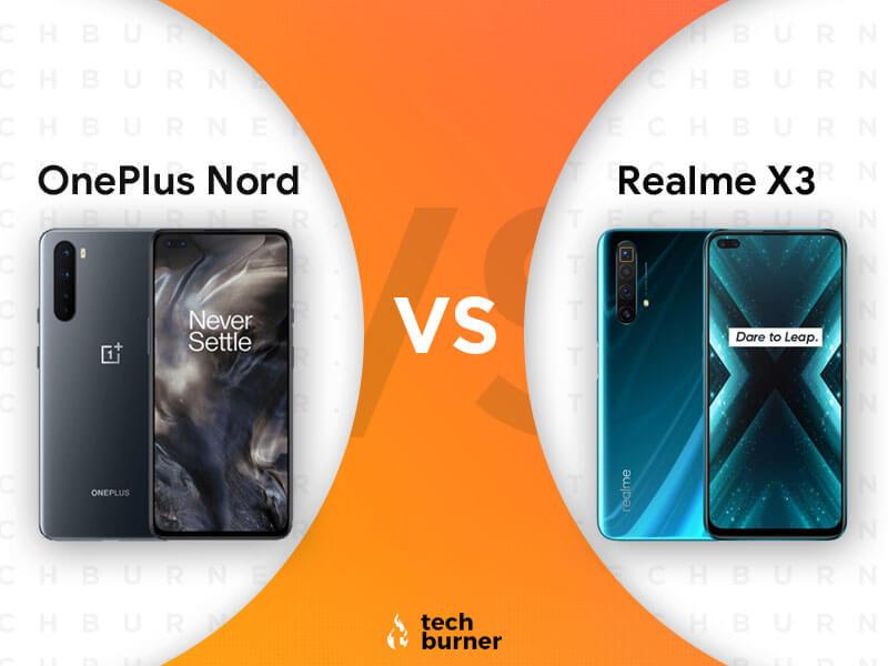 oneplus nord vs realme x3, oneplus nord vs realme x3 specs, oneplus nord vs realme x3 features, oneplus nord vs realme x3 price, oneplus nord vs realme x3 price in India