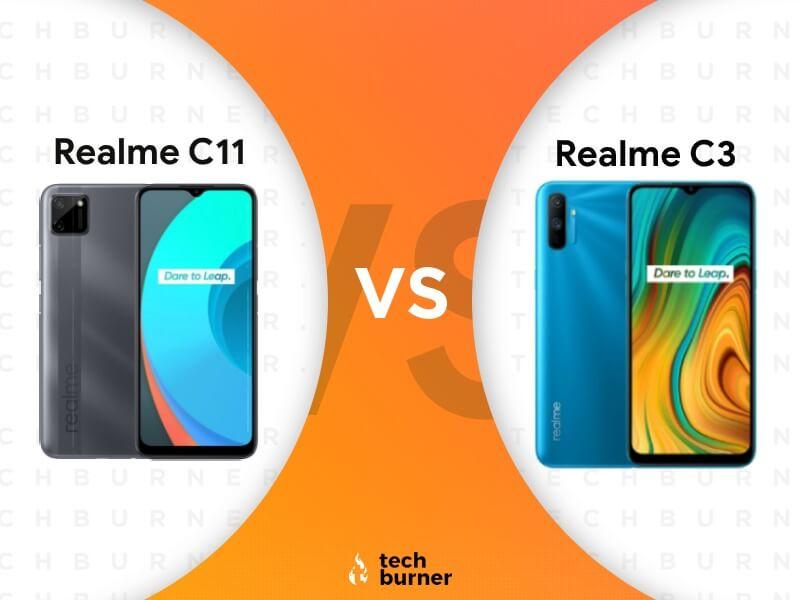realme c11 vs realme c3, realme c11 vs realme c3 specs, realme c11 vs realme c3 price in India, realme c11 vs realme c3 features, realme c11 launched