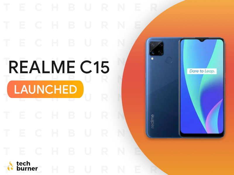 realme c15 launched, realme c15 launch date in India, realme c15 price in India, realme c15 specs, realme c15 features