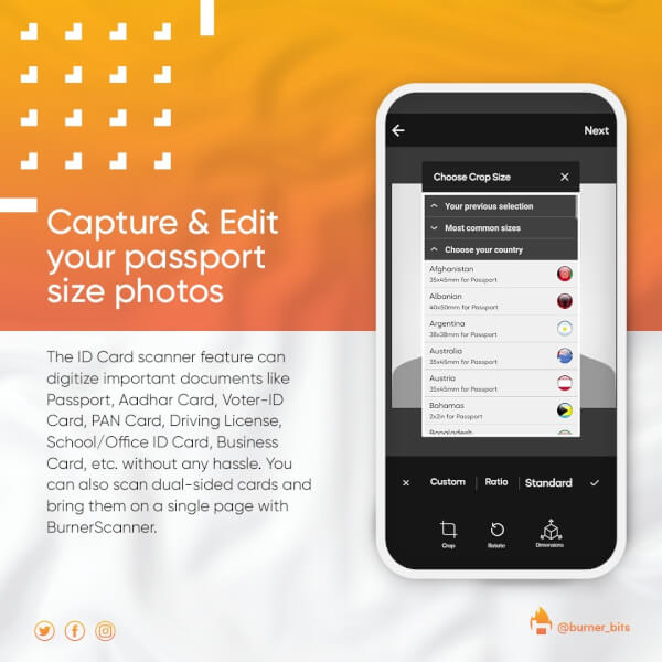 burnerscanner app, burner scanner app, burnerscanner app features, download BurnerScanner app, burnerscanner by Burner Media, BurnerScanner app download