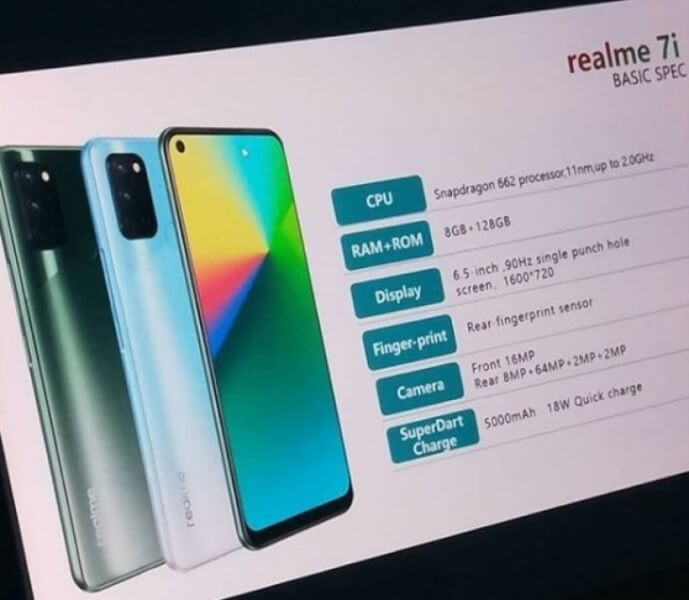 realme 7i leaks, realme 7i, realme 7i Launch date in India, realme 7i price in India, realme 7i specs