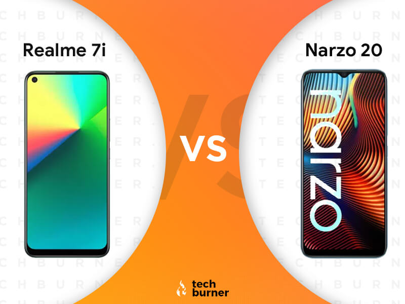 Realme 7i Vs Realme Narzo 20,Realme 7i Vs Realme Narzo 20 specs, Realme 7i Vs Realme Narzo 20 features, Realme 7i Vs Realme Narzo 20 price, Realme 7i launched