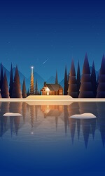 Winter Minimal Night