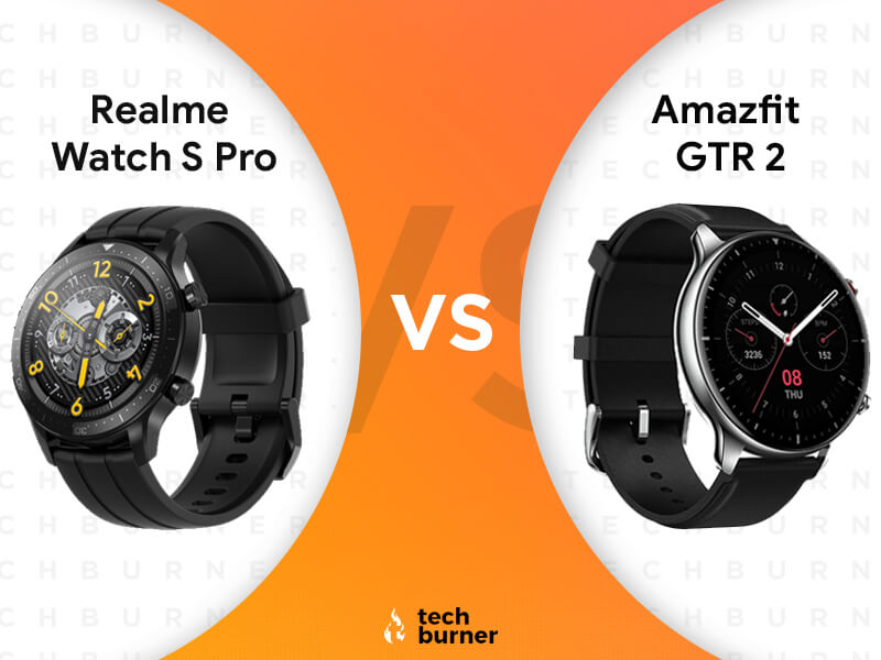 Realme Watch S Pro vs Amazfit GTR 2, Realme Watch S Pro vs Amazfit GTR 2 specs, Realme Watch S Pro Vs Amazfit GTR 2 features, Realme Watch S Pro Vs Amazfit GTR 2 price, Realme Watch S Pro launched