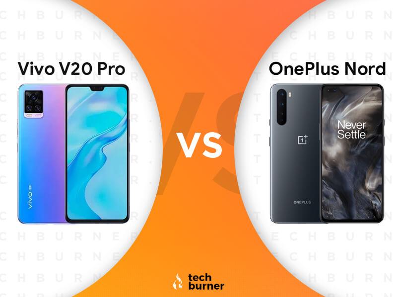 Vivo V20 Pro vs OnePlus Nord, Vivo V20 Pro vs OnePlus Nord specs, Vivo V20 Pro vs OnePlus Nord price in India, Vivo V20 Pro vs OnePlus Nord features, Vivo V20 Pro launched