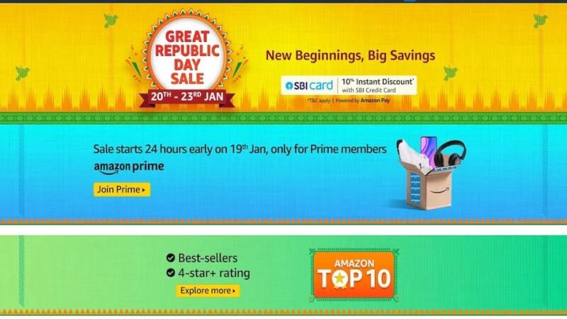 Amazon Great Republic Day Sale, amazon great republic day sale 2021, amazon great republic day sale date