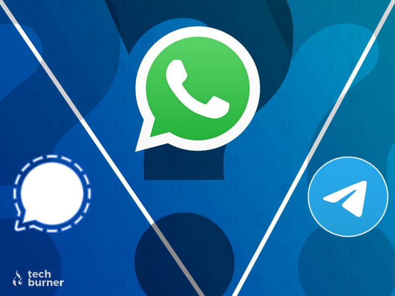 signal vs telegram, signal vs WhatsApp, download signal, telegram vs WhatsApp, download telegram, WhatsApp new privacy policy