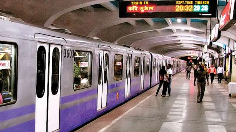 kolkata metro, new metro, new kolkata metro, metro station kolkata, kolkata railway projects